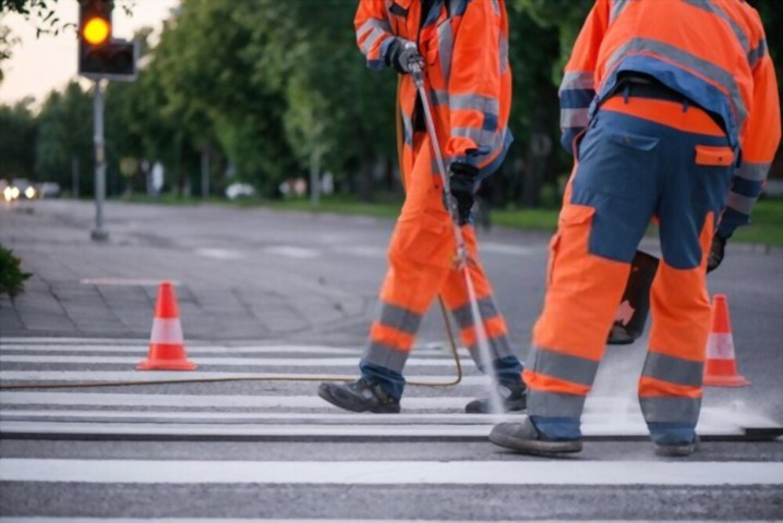 Importance of Linemarking on the Road Surface