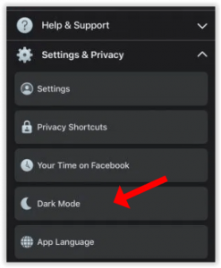 Learn to Activate Facebook Dark Mode Android and IOS